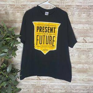 Los Angeles Lakers Our Present Our Future 2015 Tee